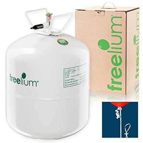 freelium go 410 helium ballongas to go flasche mit satten 041 m³ 420 liter 50x ballonband - freelium go 410 - Helium / Ballongas To Go Flasche mit satten 0,41 m³ / 420 Liter + 50x Ballonband