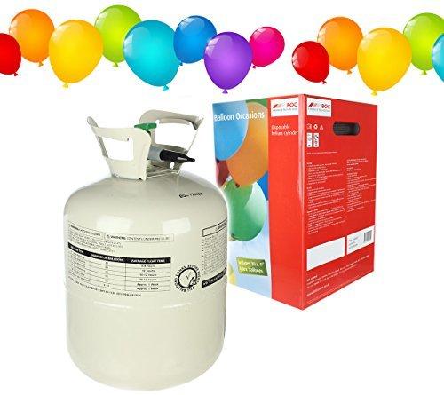 helium ballongas einweg heliumflasche xl 250 liter heliumbehaelter inclusive 30 luftballons und 30 ballonband - Helium Ballongas Einweg Heliumflasche XL 250 Liter Heliumbehälter inclusive 30 Luftballons und 30 Ballonband