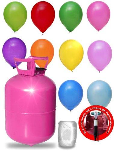 helium fuer luftballons als witziger partyspass balloontime heliumflasche mit 250 liter ballongas grosse helium einwegflasche als partyzubehoer luftballongas fuer bis zu 30 ballons - Helium für Luftballons als witziger Partyspaß - BalloonTime Heliumflasche mit 250 Liter Ballongas - Große Helium Einwegflasche als Partyzubehör - Luftballongas für bis zu 30 Ballons