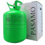 Pasamo 150 Helium SMALL in Deutschland abgefülltes Marken Heliumgas nach DIN EN ISO 14175 Ballongas mehr als 99% Rein – Grün To Go Edition – Stahlflasche GROSS mit 0,15 m³ = 150 Liter PRALL gefüllt