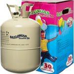 Unschlagbares Partyzubehör: HeliumStar® Helium Einwegflasche mit 250 Liter Ballongas für bis zu 30 Ballons – Heliumflasche mit Luftballongas ideal für Kindergeburtstag, Hochzeit etc. – Helium für Luftballons als Partyspaß!