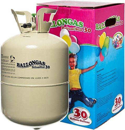 unschlagbares partyzubehoer heliumstar helium einwegflasche mit 250 liter ballongas fuer bis zu 30 ballons heliumflasche mit luftballongas ideal fuer kindergeburtstag hochzeit etc helium - Unschlagbares Partyzubehör: HeliumStar® Helium Einwegflasche mit 250 Liter Ballongas für bis zu 30 Ballons - Heliumflasche mit Luftballongas ideal für Kindergeburtstag, Hochzeit etc. - Helium für Luftballons als Partyspaß!